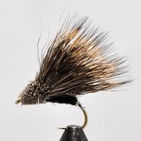 Streaking Caddis silver tag size 10