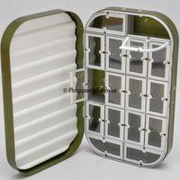 aluminiumask från flugspecialisten med 16 st fack