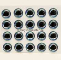 Epoxy ögon ultra 3D Aquamarine