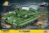 Rysk stridsvagn byggmodell