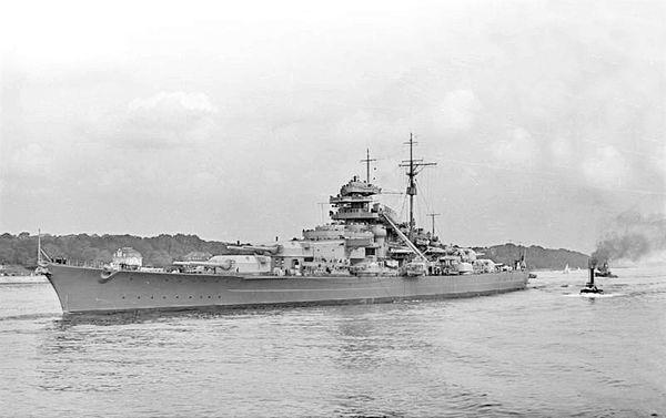 Bismarck WW2 lego krigsskepp