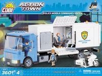 Polisstation som kan kombineras med Lego