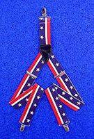 Hängslen USA Stars & Stripes