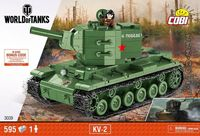 KV2 world of tanks byggmodell
