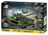 Modern polsk stridsvagn PT-91 Twardy