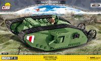 Tank Mark I - Världens första stridsvagn