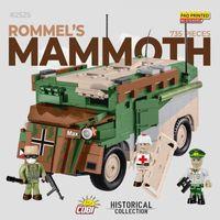 Lego kompatibelt WWII militär fordon