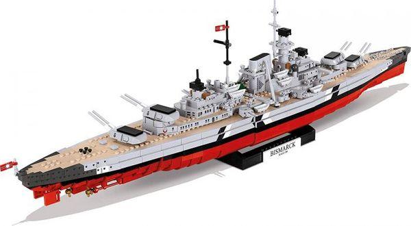 Bismarck krigsskepp Cobi blocks