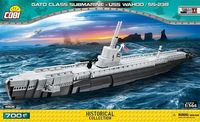 Cobi WWII USS Wahoo SS-238 u-båt byggsats