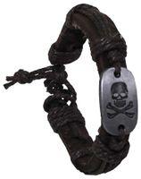 Dödskalle armband