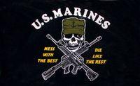 amerikanska marinkårens flagga