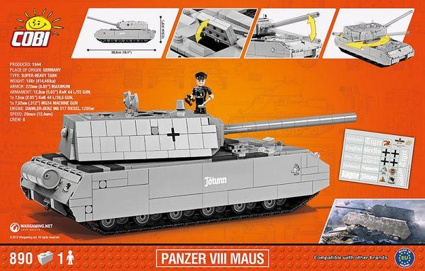 Panzerkampfwagen (PzKpfw) VIII Maus