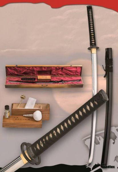 Samurajsvärd kolstål