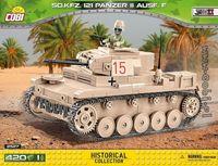 SD. KFZ. 121 Panzer II Ausf. F - tysk tank från Afrikakåren