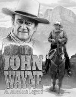 John Wayne American Legend - läcker tenn skylt