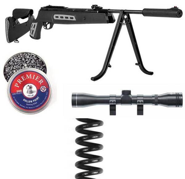Hatsan 125 Sniper 5,5mm - Super Pack