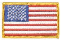 Tygmärke amerikansk flagga US army