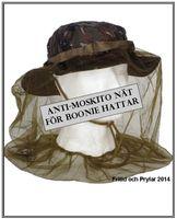 Myggnät för hattar
