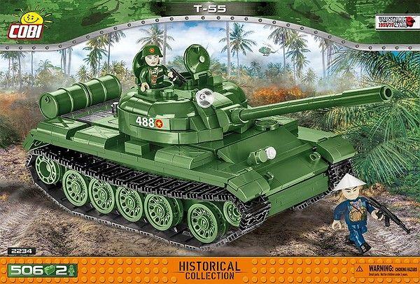 T-55 Cobi byggmodell