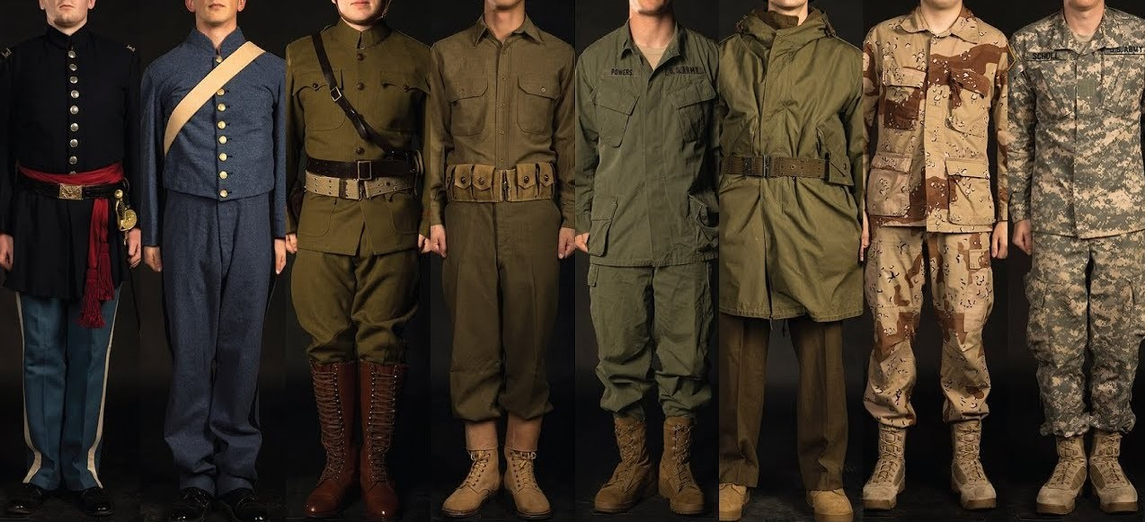 Militära uniformer