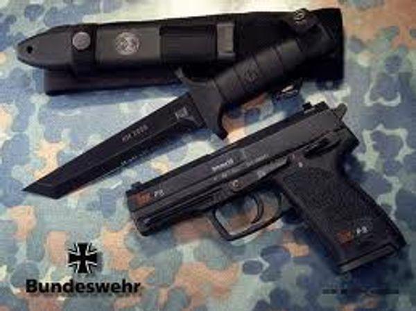 Bundeswehr fältkniv KM 2000