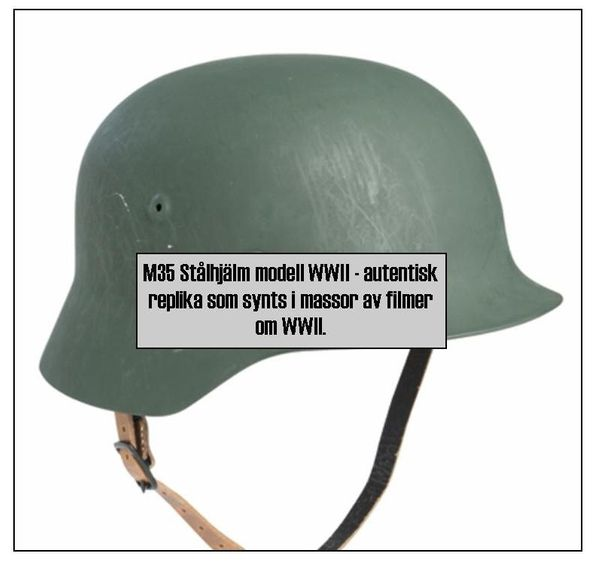 Tysk stålhjälm M35