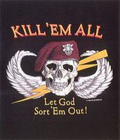 T-shirt Kill ´Em All