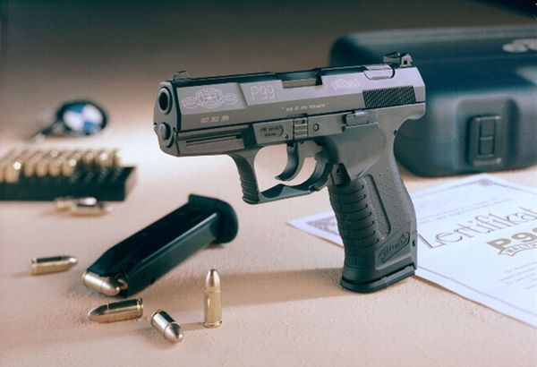 Äkta Walther P99