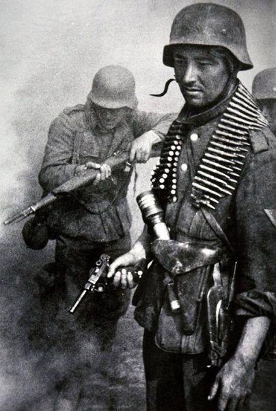 WW2 äkta Luger wehrmacht