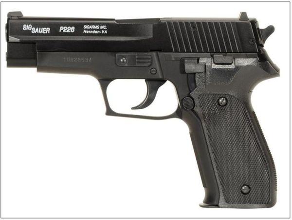 P226 polis pistol