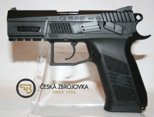 ASG GBB CO2 CZ 75 P-07 DUTY FULL BLOWBACK