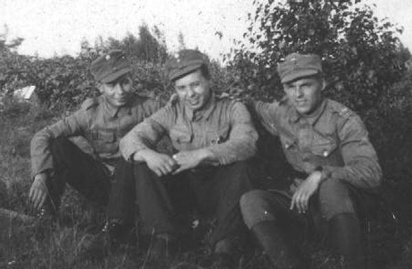 Finsk WWII militärkeps