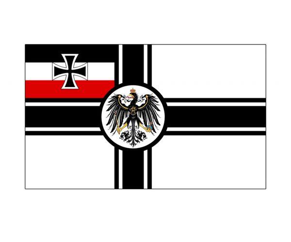 Tysk militärflagga
