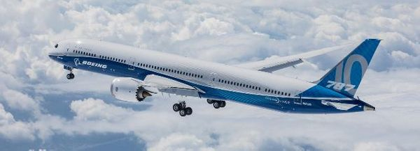Boeing 787 byggmodell