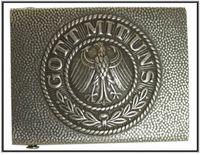 WWI tyskt bältes spänne