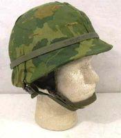 Amerikansk Vietnamkriget hjälm