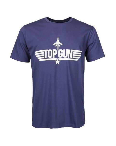 "T-SHIRT med ""TOP GUN' Logga"