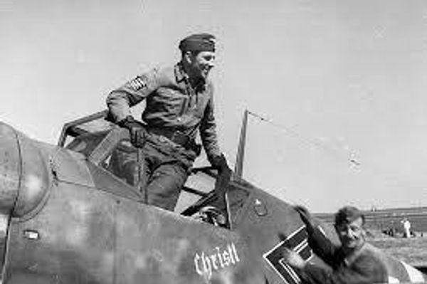 Luftwaffe ME 109 Pilot