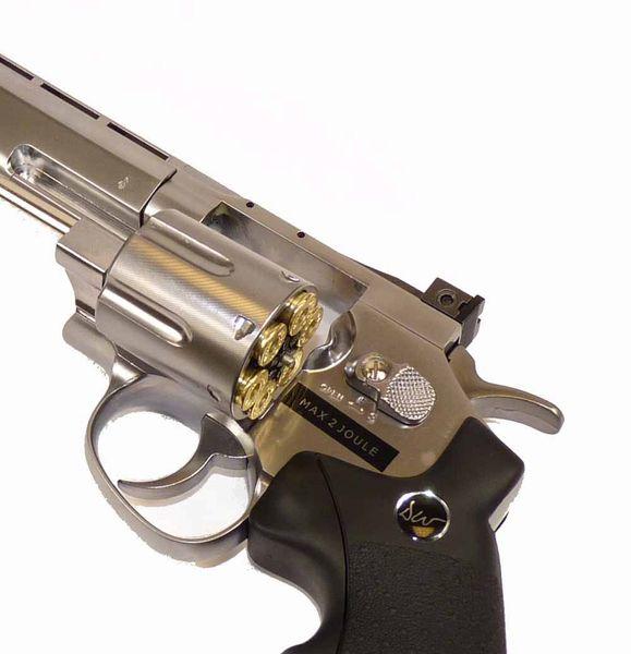 Imponerande och elegant revolver helt i metall från Dan Wesson.
