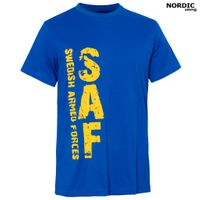 Nordic Army T-Shirt SAF (Swedish Armed Forces) - blå & gul