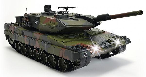 CARSON Leopard 2A5 radiostyrd stridsvagn med ljud och ljus
