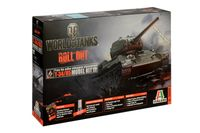 World of Tanks T-34/85 stridsvagn byggsats i skala 1:35