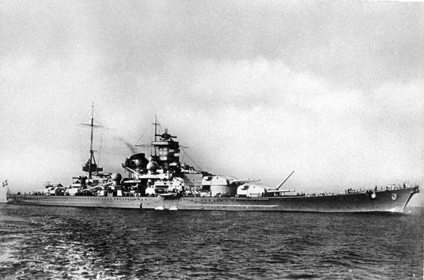 COBI-4818 Battleship Scharnhorst - WWII Slagskepp