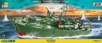 COBI-4825 PT-109 amerikansk torpedbåt - 3726 byggblock!