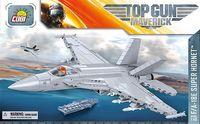 COBI F/A-18E Super Hornet Top Gun Maverick flygplan byggsats