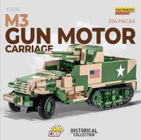 COBI-2535 M3 Gun Motor Carriage - US Army WW2 militärfordon