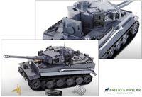 Cobi Tiger tank saljes