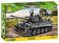 Cobi-2538 Tiger I tank Ausf.E stridsvagn Sverige