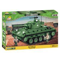 COBI-2543 - M24 Chaffee Stridsvagn byggsats