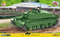 COBI-2614 Challenger II Brittisk stridsvagn med 625 byggblock